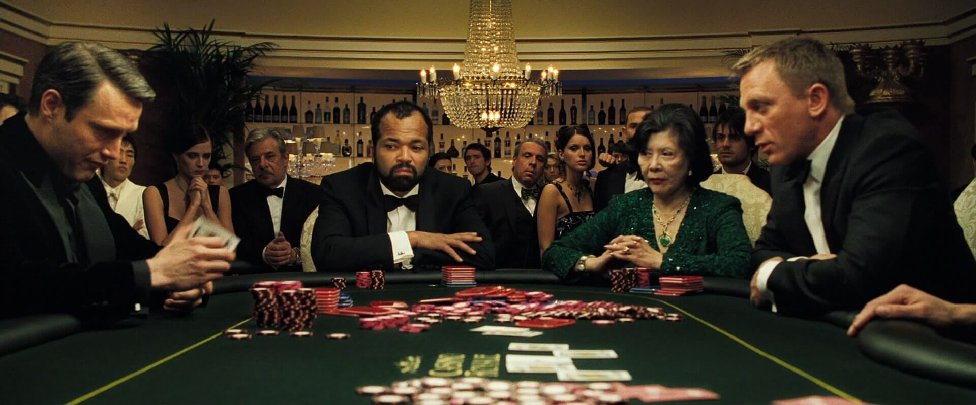 Is the poker game in Casino Royale realistic