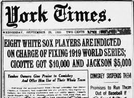 sport gambling history