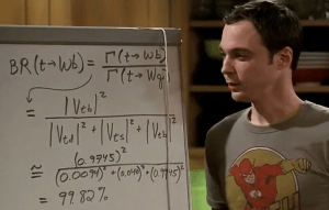 Maths Big Bang Theory