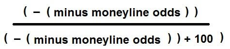 Moneyline Odds Conversion method