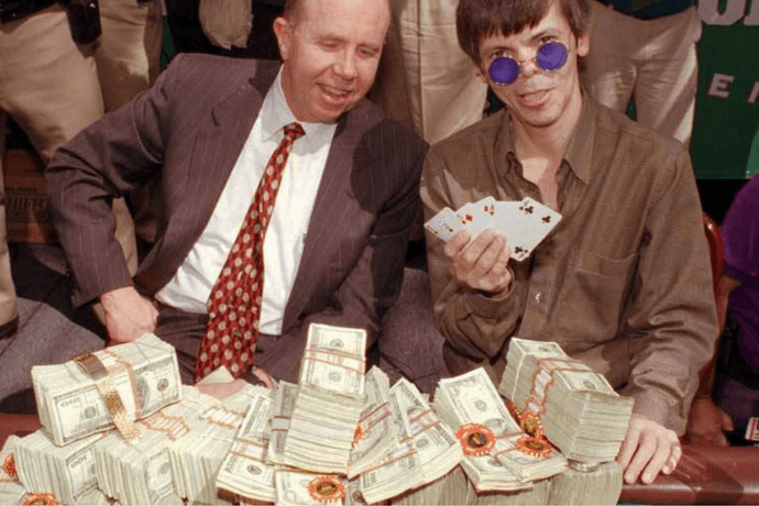 List of poker players who went broke