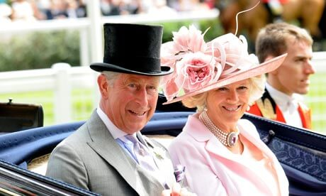 Royal-Ascot-2009, The Prince of Wales and his wife