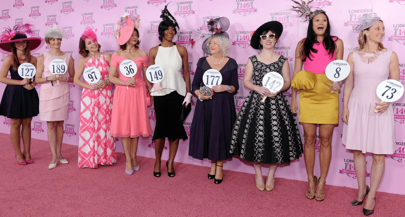 Pink Carpet contestants