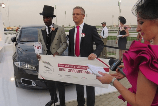 Winner of the Jaguar Style Stakes