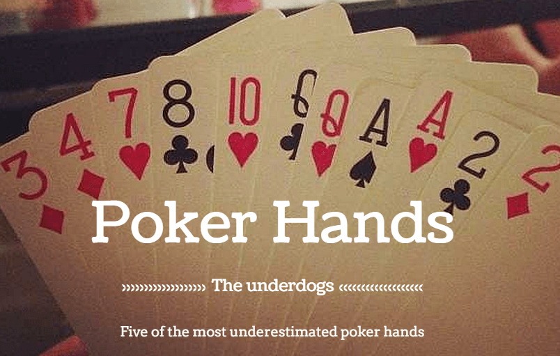 List of poker hands from least to greatest