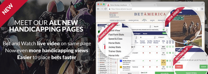 Handicapping Pages Screenshot