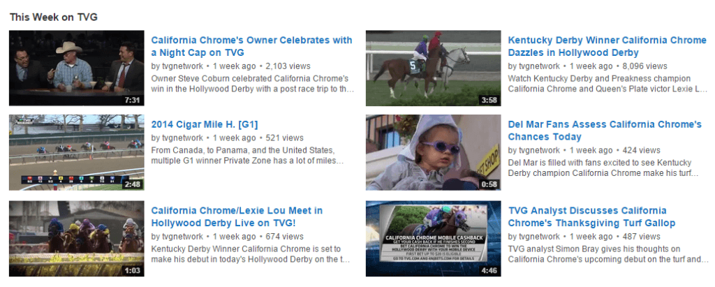 TVG Youtube Channel