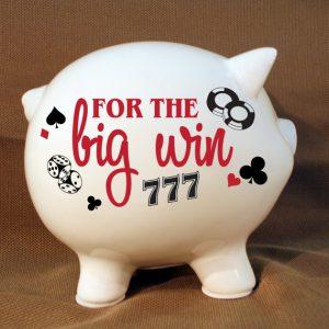 Poker Piggy Bank