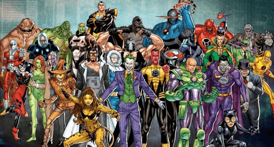 Comic Book Villains who love to gamble