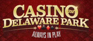 Here is the Delaware Park Casino logo