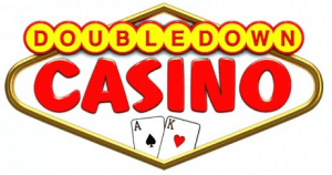 Here is the DoubleDowns Casino logo