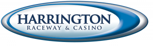 Here is the Harrington Raceway and Casino logo