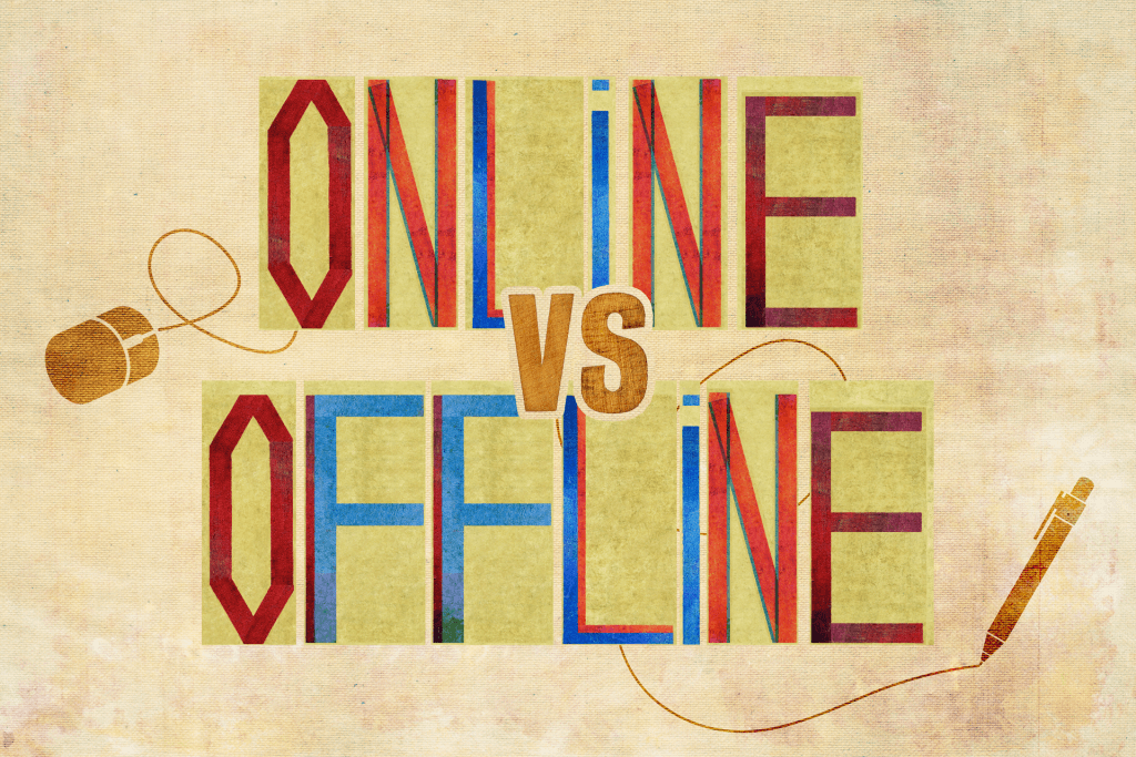 Online or offline: how do you gamble?