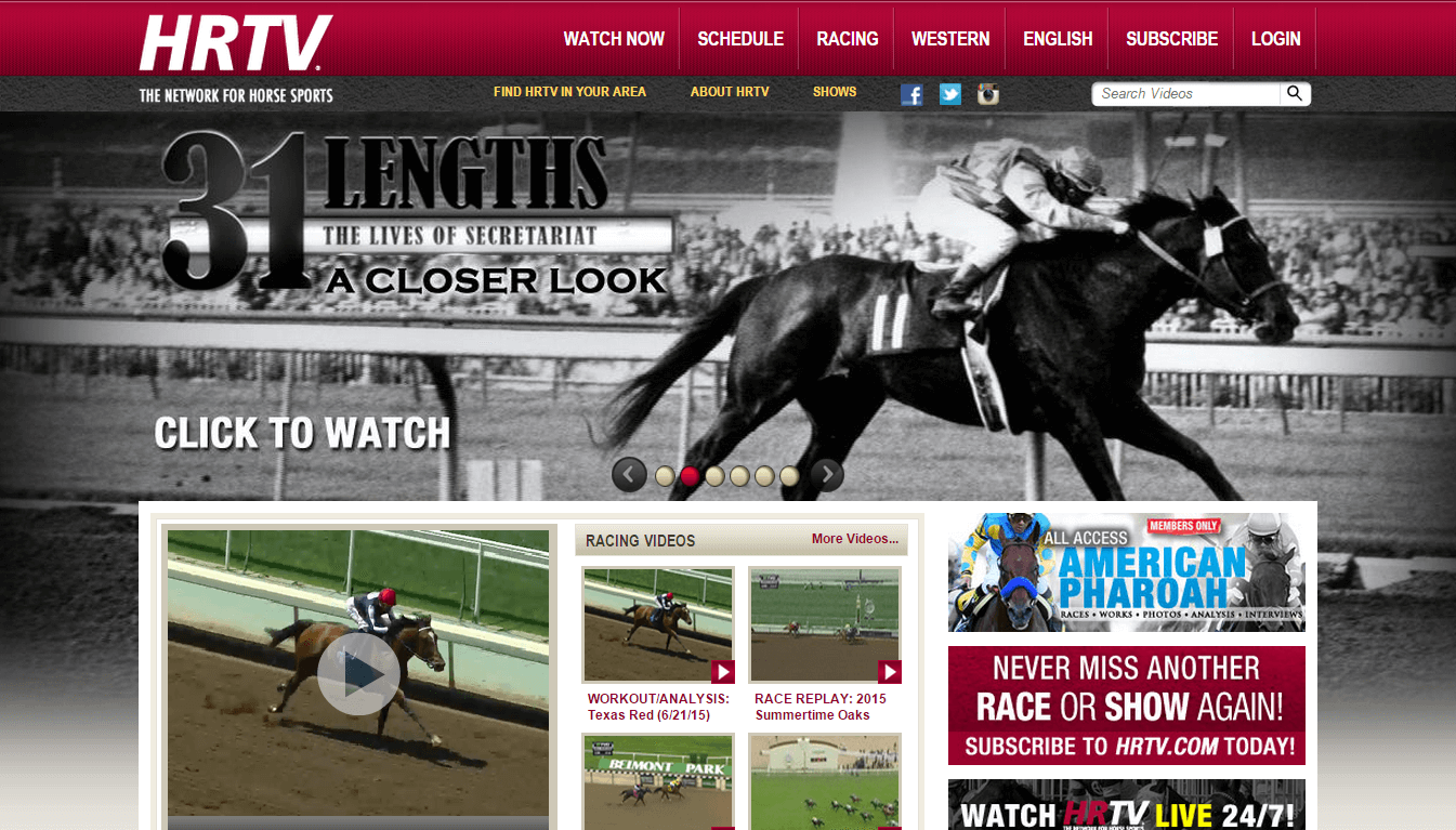 Where And How To View Live Horse Racing In The Usa