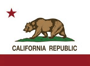 Here's the California Republic flag