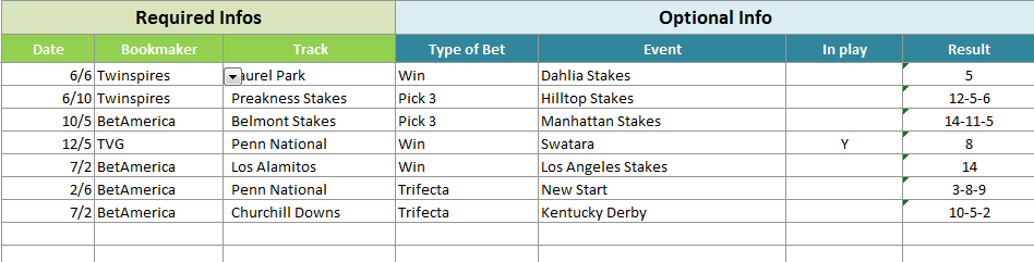Betting Pick Estimate