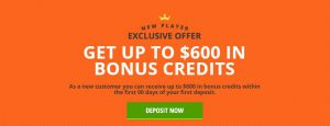 get up to $600 in bonus credits draftkings