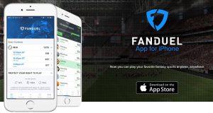 fanduel screenshot mobile app
