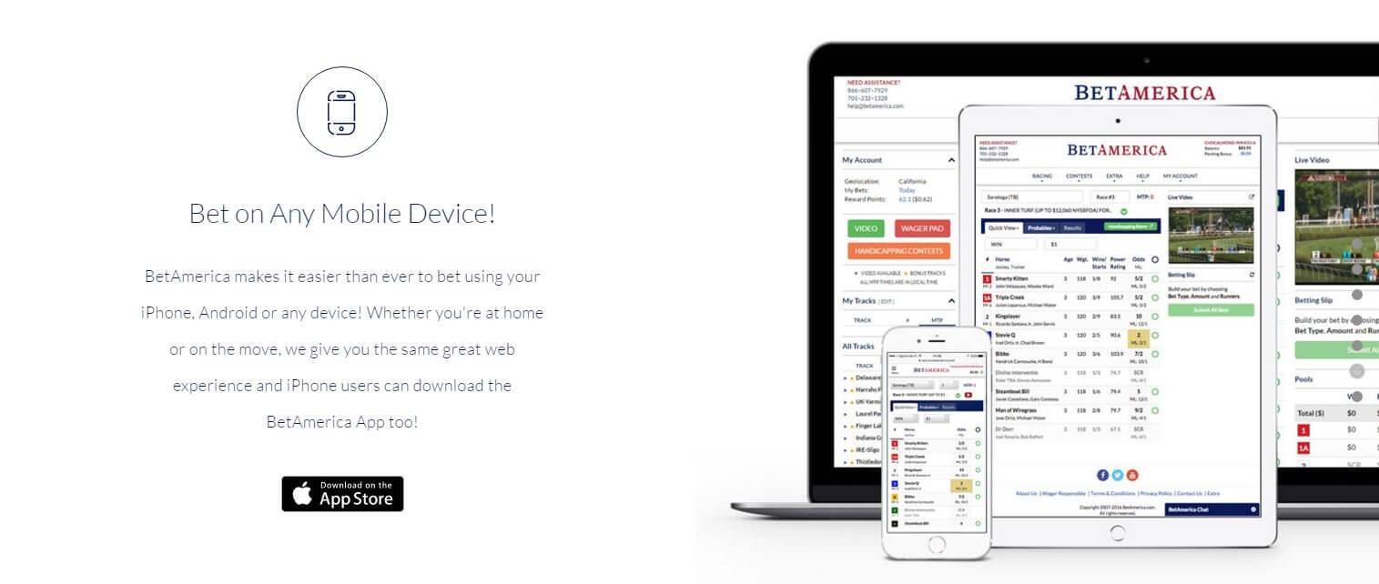betamerica mobile app