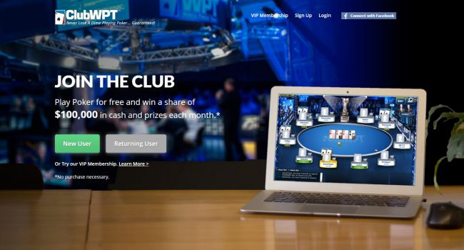 ClubWPT Bonus Code 2018: Up to $10k in Cash Prizes