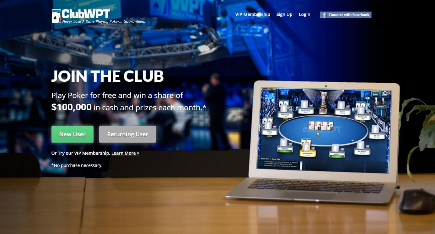 Get the ClubWPT Bonus Code and win $10,000 Monthly