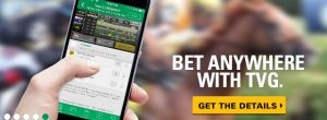 bet anywhere with TVG