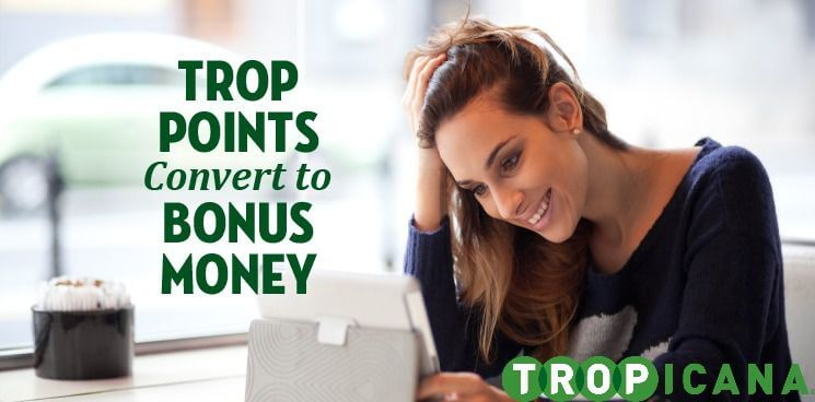 bonus points Tropicana