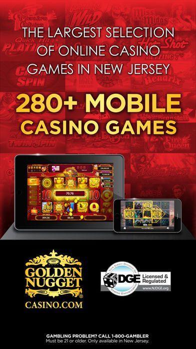 mobile version Golden Nugget