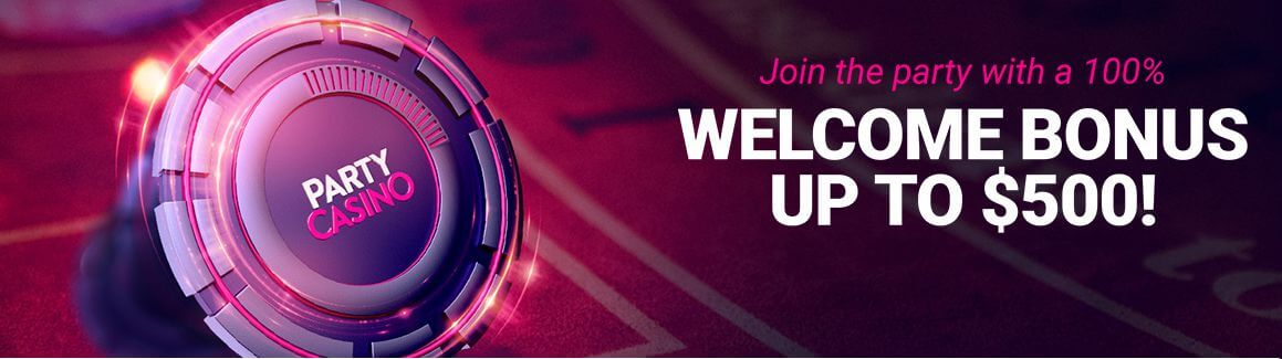 Party Casino Bonus Code Welcome Offer