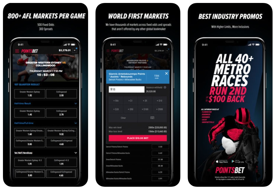 Pointsbet app