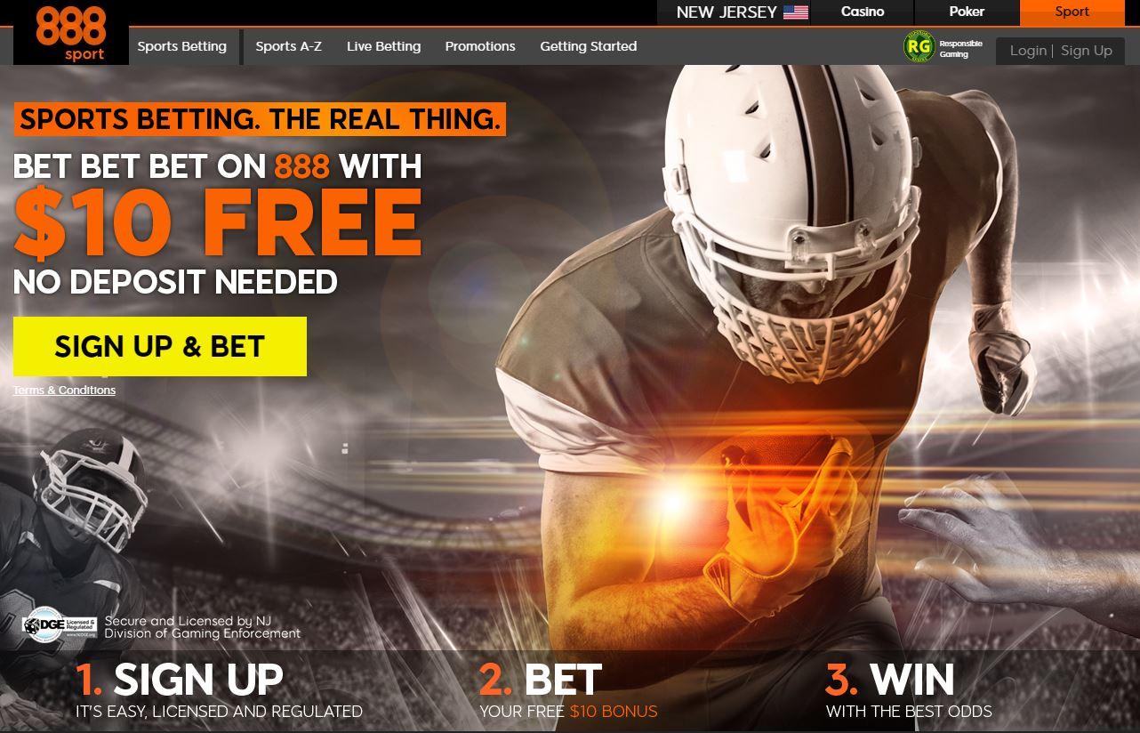 888sport welcome bonus no deposit