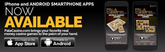 Pala Casino promo code Mobile App