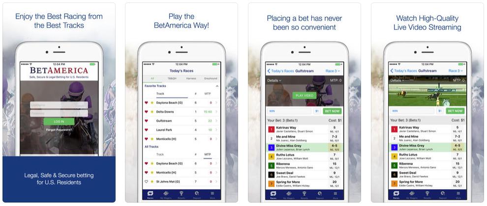 BetAmerica iOS app