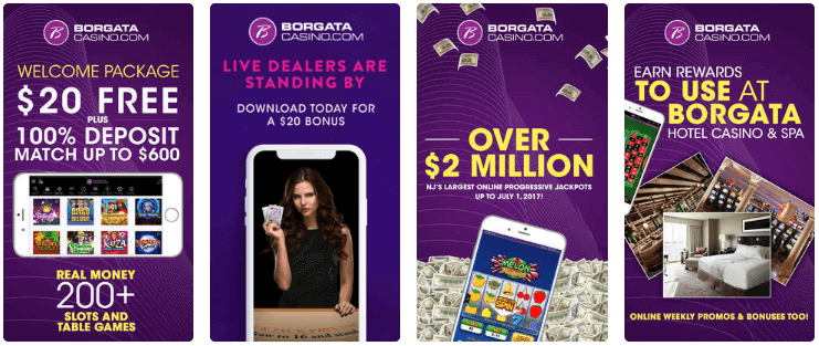 Borgata Mobile App Review 2019