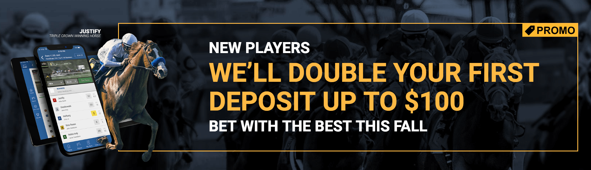 TVG promo code double your deposit