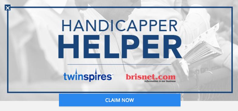 twinspires promo code handicapper helper