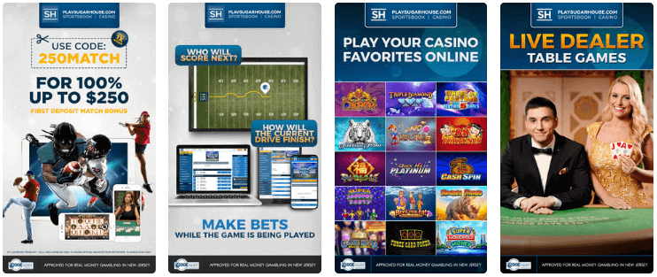 SugarHouse Casino & Sportsbook App