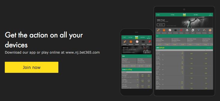 bet365 NJ App