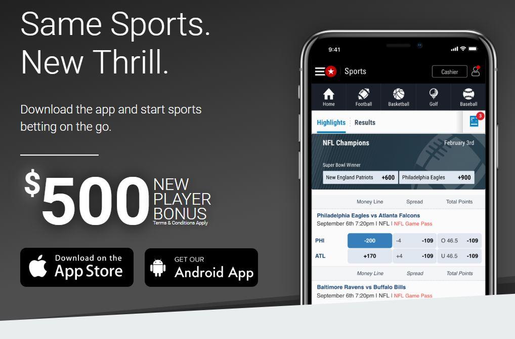 Mobile App BetStars