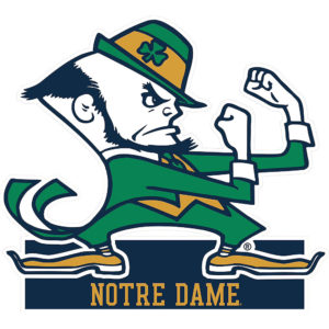 the Fighting Irish cotton bowl