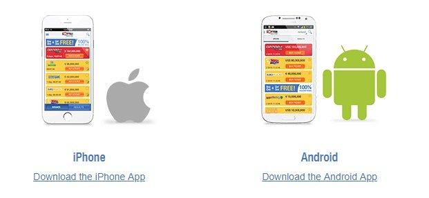 The Lotter Mobile App