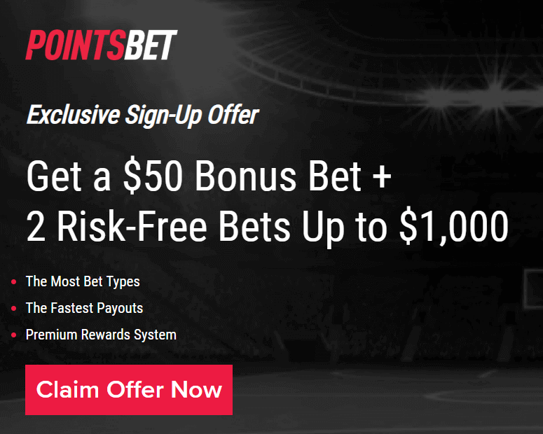 Exclusive PointsBet promo code