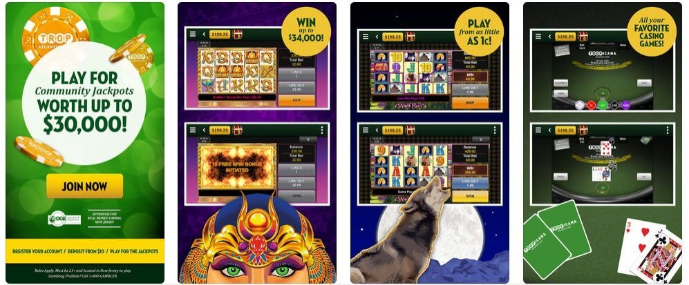 Tropicana Online Gambling Experience