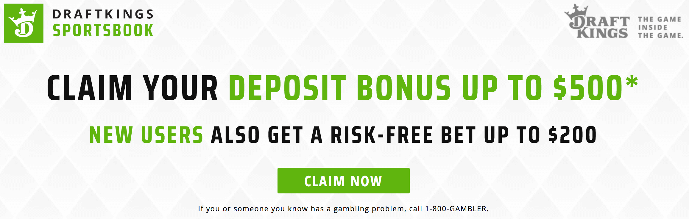 DraftKings Sportsbook Welcome Bonus