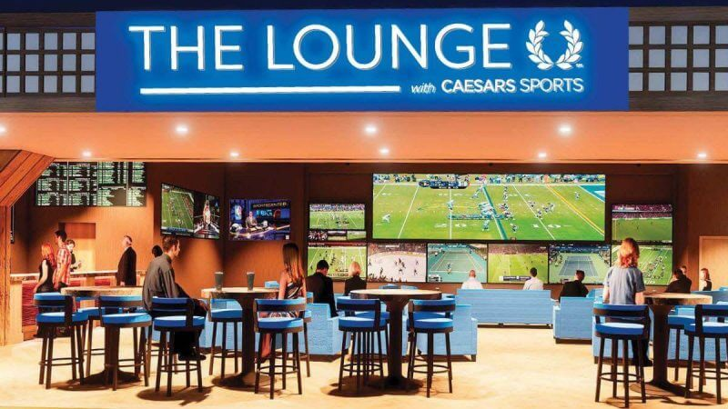 The Lounge with Caesars Sports at Turning Stone Casino