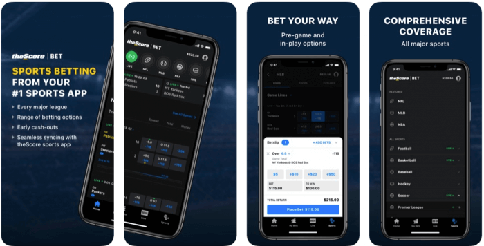 theScore Sports Betting App
