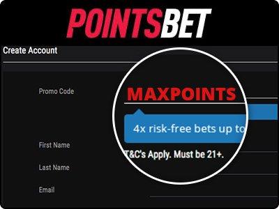PointsBet Promo Code MAXPOINTS