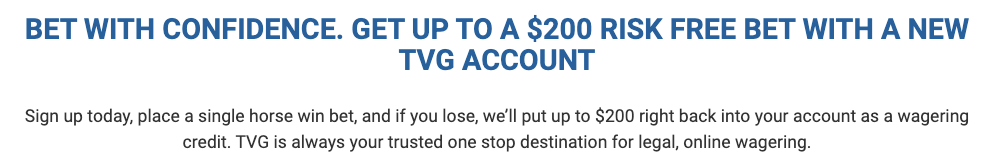 tvg sign up