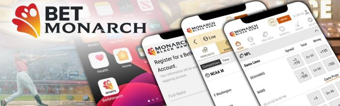 BetMonarch Sports App