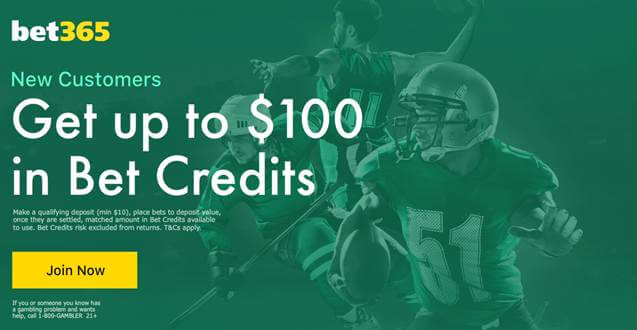 bet365 sportsbook bonus